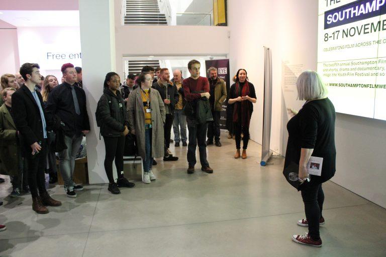 City Eye and SFW director Susan Beckett addresses the filmmakers