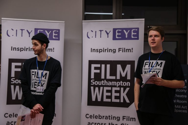 Volunteers at the SFW: Shorts competition